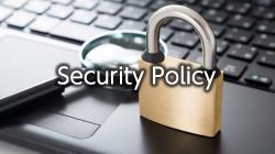 Security Policy|情報セキュリティ基本方針へ