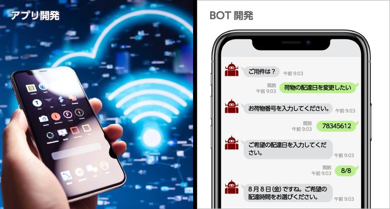 アプリ開発|BOT開発